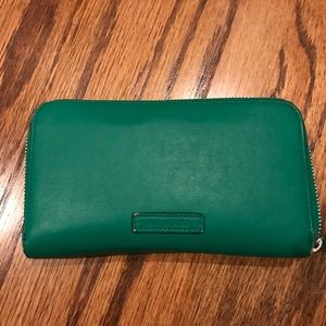 Vera Bradley green wallet
